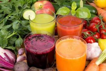 Лечение язвы желудка овощными соками
